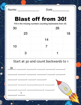 Blast Off from 30!