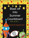 Blast Off into Summer 10 day Countdown Pack