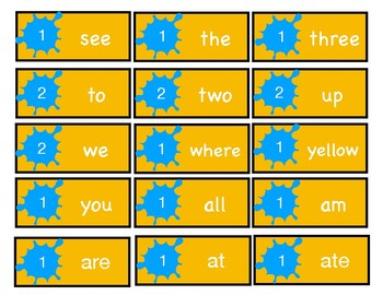 Blast Off to Learning: Sight Words Game