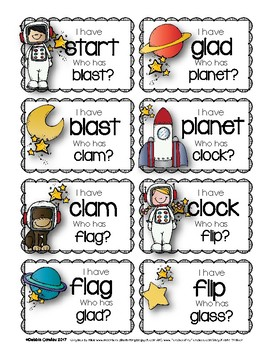 Blast Off with L Blends: Word Work for the Primary Grades