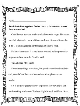 Quotation Marks Activities