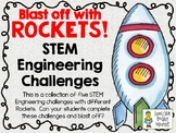 Blast Off with Rockets! - STEM Engineering Challenges - Set of Five!