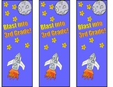 Blast into 3rd Grade Bookmarks