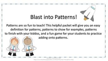 Blast into Patterns!