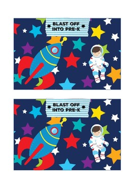 Blast into Space Post Cards