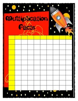 Blast off Multiplication