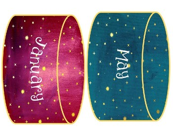 Blast-off: Space-themed room decor: Birthday Board Prints