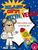 Blast off With Verbs: Second Grade Wonders Unit 3, Week 1 Verb/Not Verb