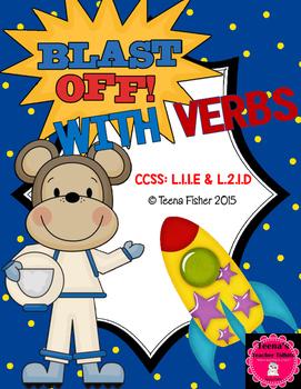 Blast off With Verbs: Second Grade Wonders Unit 3, Week 1 Verb/Not Verb
