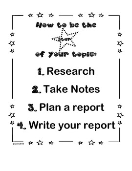 """Blast off to Explore a Topic: A """"research and write"""" mission"""