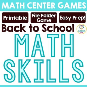 "FREEBIE:  ""Blast off to Math"""