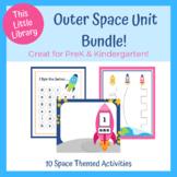 Blast off to Space! PreK & Kindergarten Unit - Math and Li