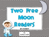 Blast off to the Moon! Two free Moon readers! (plus visual plans!)