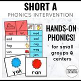 Phonics Intervention Games Short A