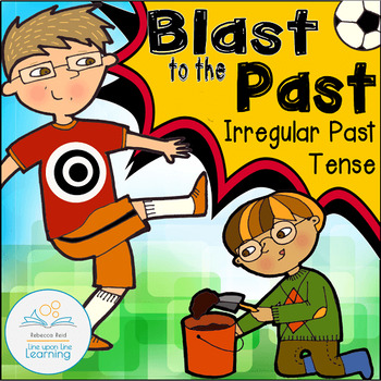 Irregular Verbs Past Tense Practice for Second Graders