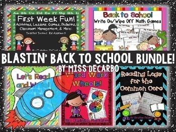 Blastin Back to School BUNDLE