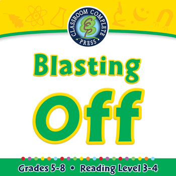 Blasting Off - NOTEBOOK Gr. 5-8