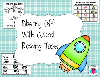 Guided Reading K and 1 Blast Off