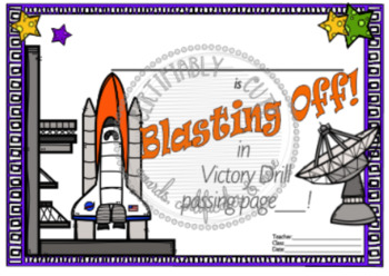 Blasting Off in Victory Drill