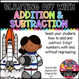 Blasting Off with 2-Digit Addition and Subtraction (Virginia SOL 2.6b)