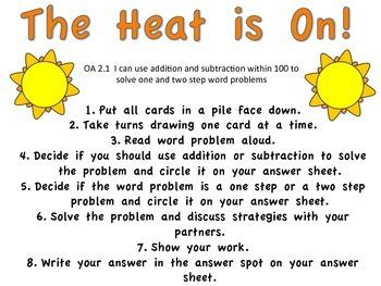 Blazing Into Third Grade:  Operations & Algebraic Thinking Standards