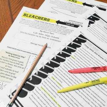 Bleachers Close Reading Exercises, Four Lessons to Supplement Your Unit