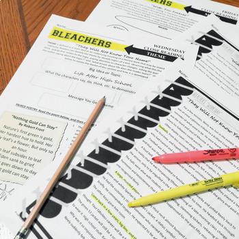 Bleachers Literature Guide, Unit Plan, John Grisham's Football Novel
