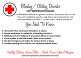 Bleeding / Clotting Disorder - Von Willebrand Disease info