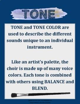 Blend & Balance Choir Activity