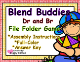 Blend Buddies Dr and Br Blends File Folder Game
