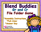 Blend Buddies Gr and Cr Blends File Folder Game