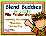 Blend Buddies Pr and Fr Blends File Folder Game