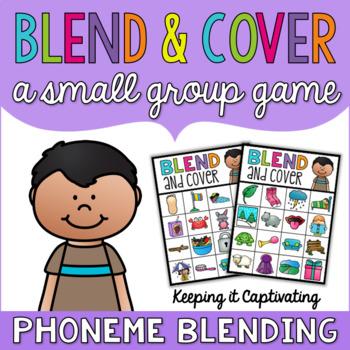 Blend & Cover {Phoneme Blending}