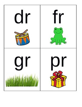 Blend / Digraph Cards
