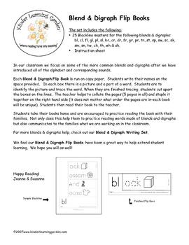 Blend & Digraph Flip Books