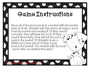 Blend/Digraph Game-- Sound the Alarm