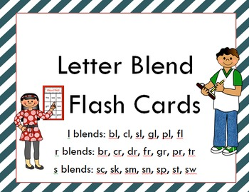 Blend Flash Cards