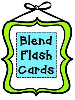 Blend Flash Cards