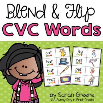 Blend & Flip CVC Words