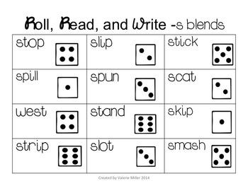 Blend Fluency Word Work Unit-Differentiated