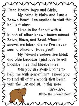 Blend Friends {An Intro to Consonant Blends for K-1}