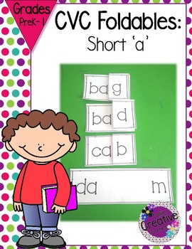 CVC Words - Short A - Blending Sounds