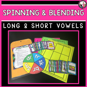 Blend Game! Blends with long and short vowels!