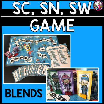 Blend Game! Snowball Fight!! sc, sn, sw