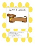 Blend It - End It! - An activity for consonant blends