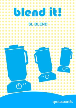 Blend It! SL Blend. Target s blends in speech therapy (Phonology & Articulation)