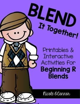 Blend It Together: Beginning R Blends Activities