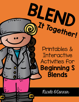 Blend It Together: Beginning S Blends Activities