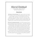 Blend Oddball