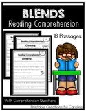 Blend Passages. Comprehension Questions. Simple Sentences. I Can Read.